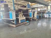 浙江湖州出售2014年2200门幅9节黄吉天燃气定型机一台,已到公司要的抓紧!
