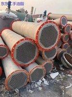 出售二手列管式冷凝器 二手不锈钢冷凝器