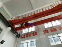 上海宝山区二手单梁行车10吨和5吨-16.5米处理