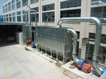 供应山东伟航中央除尘设备专业制造高效粉尘处理设备