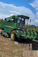 黑龙江大庆自家干活玉米收割机y210出售