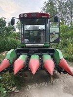 河南许昌15年8月,洛阳中收四茬收玉米机出售