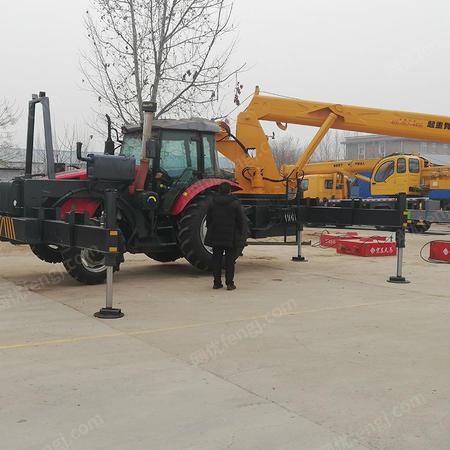 吊车厂家出售8吨拖拉机吊车报价 电力施工专用车 小型拖拉机吊车
