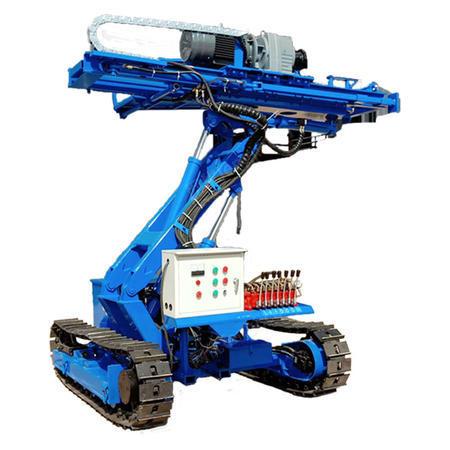 供应履带锚固钻机护坡支护钻车柴动电自行走液压旋转基坑锚杆钻机