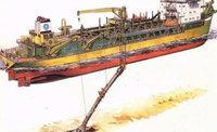 江苏宿迁出售1艘挖泥船