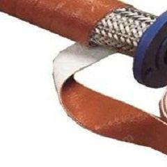 供应缠绕式防火绝缘玻纤套管