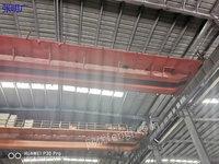 河南新乡二手双梁行车10十10吨跨度22米5出售