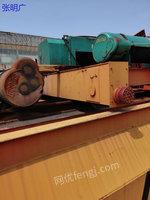 河南新乡二手桥式起重机50吨22米5出售