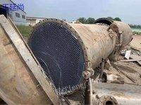 供应二手钛材冷凝器 300平方大型二手钛合金冷凝器