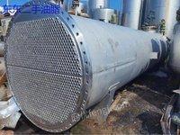 出售700平方二手冷凝器 316L材质冷凝器