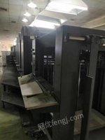 湖北武汉出售罗兰305四开四色印刷机 海德堡cd102-4