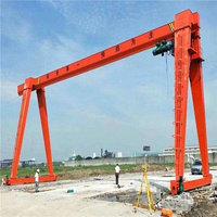 9成新二手行吊 5吨13米20.5米高7米门式起重机 旧行车 立柱 出售