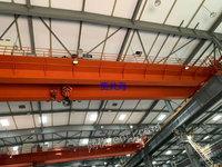 泾海起重二手双梁行车QD50/10吨杭州工地多台处理