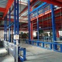 湖南益阳1吨升降货梯 导轨式升降平台 车间载货运输平台厂家出售