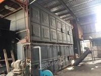 广西贵港出售19年10吨全新(上体)生物质蒸汽锅炉