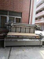广东东莞处理丝网印刷机,工作台面1.3米×2.8米,