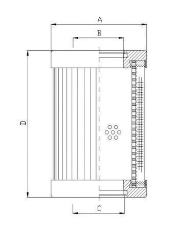 供应LXY180x425/180液压滤芯 汽轮机过滤器