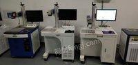 广东深圳低价出售几台二手光纤激光打标机20w30w金属塑料