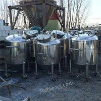 专业批发二手自吸式发酵罐 立式发酵罐