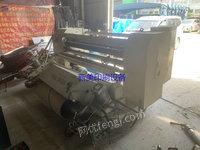 浙江温州出售1台二手1.6米宽圆刀分切机气缸放料式