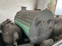 江苏常州搬厂低价处理闲置小型导热油炉一台