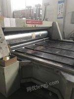 上海奉贤区由于拆迁转让双色印刷开槽机