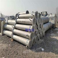供应二手不锈钢冷凝器 九成新二手380平方钛合金列管冷凝器 石墨冷凝器