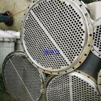 二手不锈钢冷凝器价格 二手九成新搪瓷冷凝器 冷凝器YNS-17.9卧式冷凝器