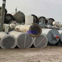 石墨改性聚丙烯列管式冷凝器 150平方不锈钢冷凝器 二手316材质10-250平