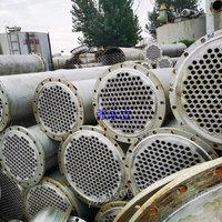 常年销售二手反应釜 二手九成新搪瓷冷凝器 出售二手100平方列管冷凝器