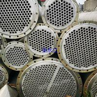 处理二手冷凝器 二手50平方不锈钢冷凝器 15立方碳钢冷凝器