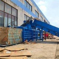 江西80吨塑料瓶液压打包机出售 编织袋废纸箱压缩打捆机