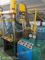 广东东莞正常使用上缸30下缸10油压机,出售
