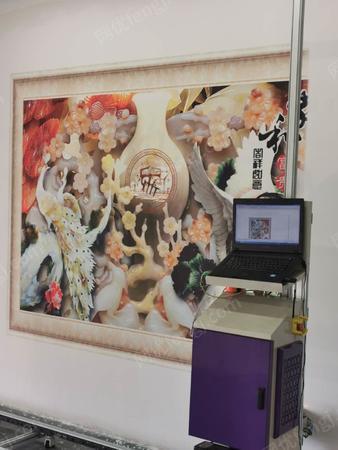 供应办公室励志语会议室背景墙图新农村文化乡村喷绘打印机