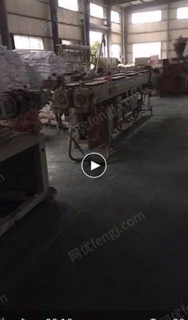 塑料管厂出售上海博塑65PVC管双螺杆挤出线2-3套,在用,价格合适处理