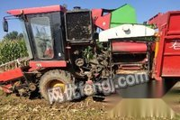 河北沧州出售16年使用中三行军峰收割机
