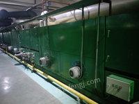 浙江台州出售二手皇吉定型机 黄吉定型机  2米2  大小风机  10箱  天然气