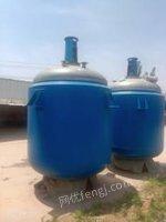 陕西西安低价转让5吨搪瓷反应釜,5吨不锈钢反应釜