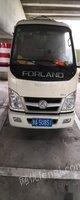浙江杭州福田小卡之星垃圾车,2020年4月上牌,现低价转让