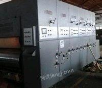 浙江嘉兴纸箱机械设备印刷机粘箱机打钉机分纸机 出售