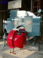 出售二手4吨无锡中正低碳80mg冷凝一体燃气蒸汽锅炉一套