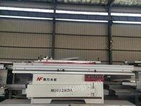河北沧州低价出售二手精密裁板锯 单片纵锯机 多轴多排钻