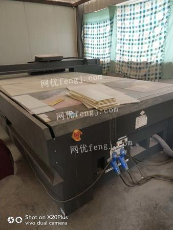 建材厂处理2017年东川UV打印机1台,激光雕刻机1台(瓷砖背景墙加工)