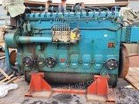 山东威海潍柴8200船用发动机2台出售