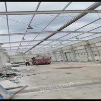 出售二手钢结构厂房 精品二手钢结构 含钢量高 各种二手行车房