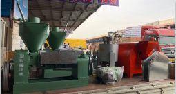 供应浙江宁波慈溪花生核桃胡麻米糠棉籽山茶籽压榨榨油的机器