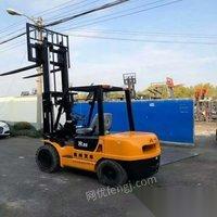 广东广州个人出售3.5吨合力二手叉车