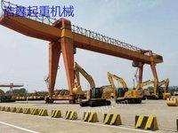 二手32吨双主梁龙门吊 升级产品高效节能