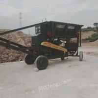 广东广州客户违约,  移动破碎机制沙机,小型破碎机制沙机出售