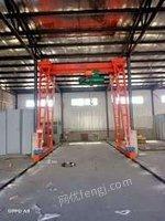 山东泰安9.9成新二手十吨龙门吊航吊地轨吊天车吊机单轨吊出售